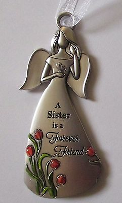 g A sister is a forever friend angel ANGELS AMONG US Ornament Ganz special bond