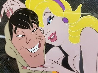 SIGNED DRAGON'S LAIR CEL animation DON BLUTH 1980s video game #127 of 200