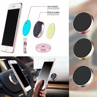 Universal Cell Phone GPS Mobile Car Magnetic Dash Mount Holder For HUD Pad NEW