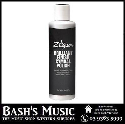 Zildjian Brilliant Finish Cymbal Cleaning Polish Cleaner