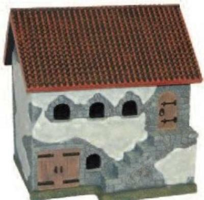 MBA Eurovillage 25mm Spanish Tiled Roof Stable Box EX