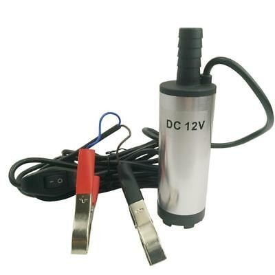 DC 12V Submersible Pump 38mm Water Oil Diesel Fuel Transfer Refueling Tool Hot