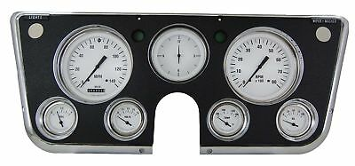 1967-1972 Chevrolet Chevy Truck Direct Fit Gauge White Hot CT67WH