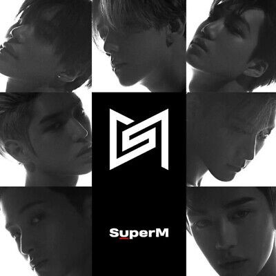 SUPERM [SUPERM] 1st Mini Album KOREA Ver. CD+POSTER+2ea Photo Book+Card SEALED