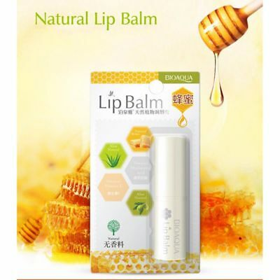 Pure Natural Plant Transparent Lip Balm Moisturizer Anti Cracking Lips Care Balm