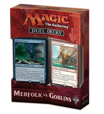 Magic The Gathering - Duel Decks - Merfolk vs. Goblins - englisch
