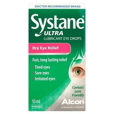 Systane ULTRA Lubricant Eye Drops 10ml x 10 TRADE PACK. £££ SAVER