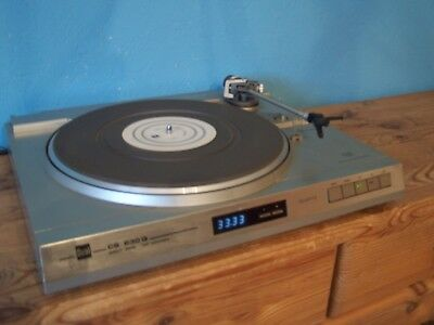 Dual CS 630Q High End Direct Drive Full Automatic HiFi Turnable d.Spitzenklasse