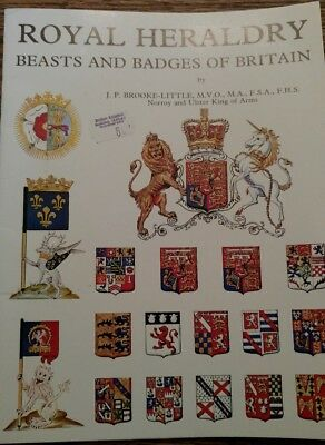Royal Heraldry: Beasts and Badges of Britain by J. P. Brooke-Little (1981, Pape…