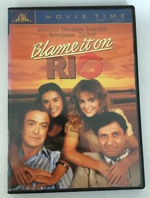 Blame It on Rio (DVD, 1984) RARE Michael Caine Demi Moore Valerie Harper Reg. 1