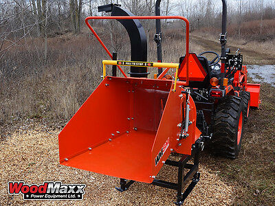 WOODMAXX  WM-8M PTO Wood Chipper w/Auto In-Feed