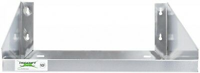 Wall Mounted Stainless Steel Restaurant Microwave Shelf Shelving 24' X 18'