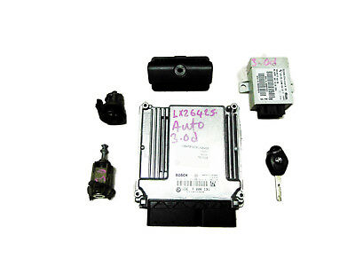 BMW E53 X5 30d M57N ECU DDE Set Diesel Engine Basic Control Unit Key Lock EWS