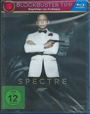 Blu-ray - James Bond 007 - Spectre - Neu & OVP - Daniel Craig