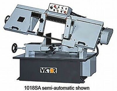 "10"" W 10"" H Victor 1018SA Semi-Automatic Horz Bandsaw HORIZONTAL BAND SAW, Semi-"