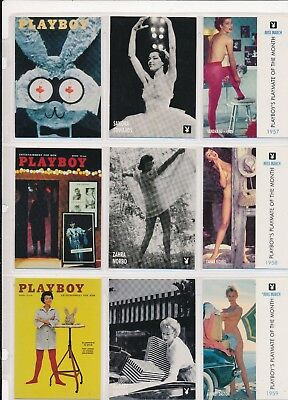 Playboy Centerfold Collection - March - Complete Lot of 129 Cards