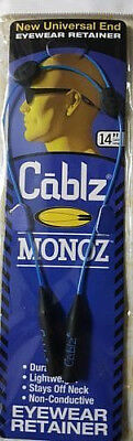 NEW Cablz Monoz 14'' Blue Adjustable Eyewear Container