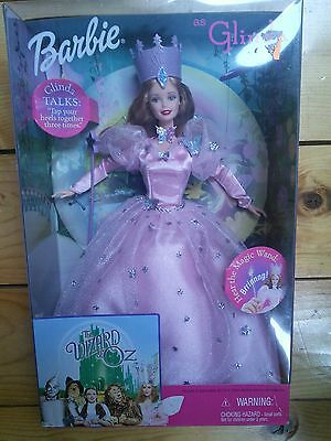NEW! Barbie Doll as Glinda from The Wizard of Oz  1999 Talking Doll