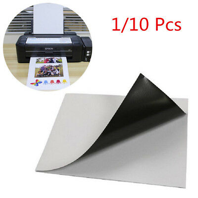1/10 Pcs  A4  Magnetic Magnet Sheets  0.3mm Thickness Crafts Material