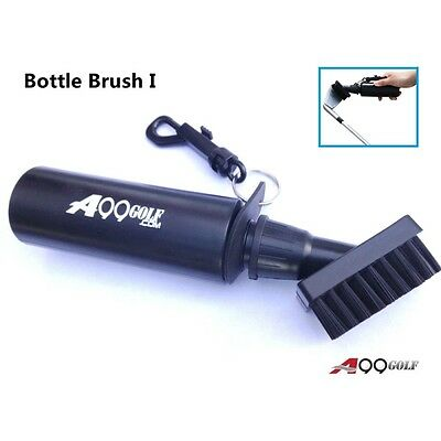 A99 Golf Water Bottle Brush  with reel with Logo club brush cleaner