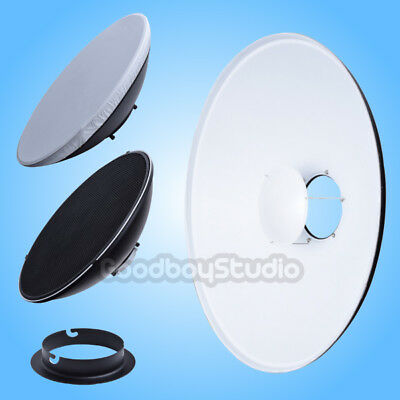 42cm 16'' White Honeycomb Grid Beauty Dish Comet-A Mount (Speedring Changeable)