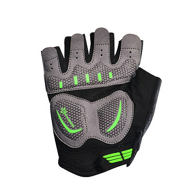 Rockbros Cycling Gloves Bicycle Anti-shock Sports Gloves Half Finger Breathable