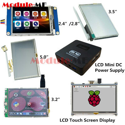 "TFT LCD Display 5'' 800x480 2.8"" 3.5''Touch Screen fr Raspberry Pi 2 Model B+ A+"