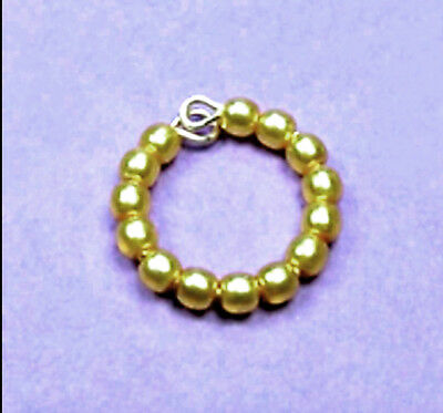 """Dreamz TEAL Pearl Single BRACELET made for 11/"""" Barbie Doll Jewelry"""