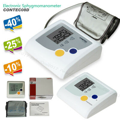 Promoted,Digital Blood Pressure Monitor Heart Beat Pulse Rate NIBP Meter LCD