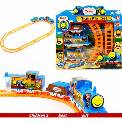 Electric Handcrafted Train+ Track Set Educational Toys Gift for Kids Boys NEW