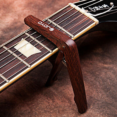 JOYO Light Professional Capo with Pick for 6 String Acoustic Electric Guitar