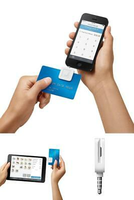 Square Credit Card Reader iPhone iPad Tablet Android Mobile Phone Swiper White