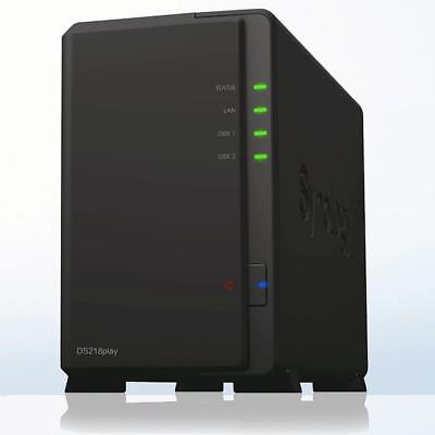 Synology DS218play inkl. 6TB (2x 3TB - HGST UltraStar 24/7 RAID HDD)
