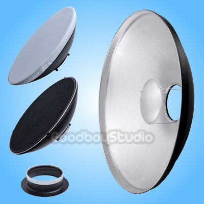 55cm 22'' Silver Honeycomb Beauty Dish Multiblitz-A Mount (Speedring Changeable)