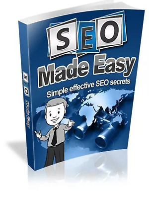 SEO Made Easy & Bonus 10 marketing online ebooks Resell rights Pdf free shipping