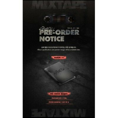 K-POP STRAY KIDS Debut Album [Mixtape] CD + 176p Photobook + 2p Photocard Sealed