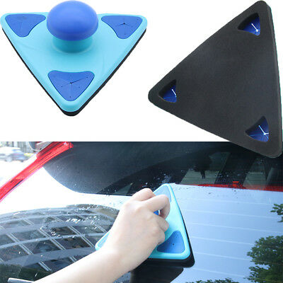Car Window Glass Triangle Clean Brush Beauty Tools For BMW Chevrolet Audi Toyota