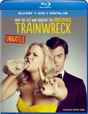 Trainwreck (Blu-ray/DVD, 2015, 2-Disc Set)  Free shipping NEW SEALED