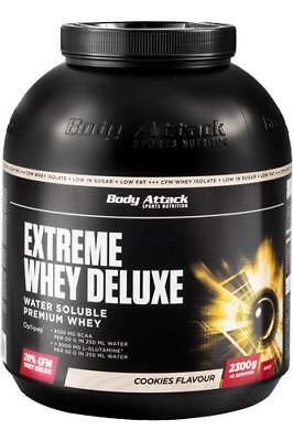 (23,91 € / kg) BODY ATTACK EXTREME SIERO Deluxe - 2,3 kg