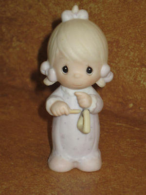 Precious Moments 1984 Theres A Song In My Heart Figure Porcelain