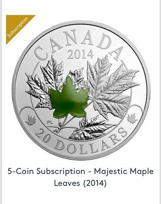 5 Majestic Maple Leaf Collection (2014)