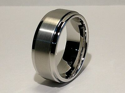Men's TRITON Tungsten Carbide BAND RING - Size 10 - TC850