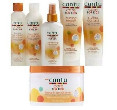 Cantu Care For kids Gentle care for textured Hair - full Set (6 pieces)
