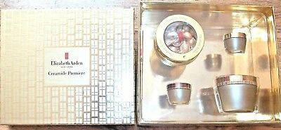 ELIZABETH ARDEN Ceramide Premiere Moisture & Renewal 4 piece Gift Set NEW SEALED