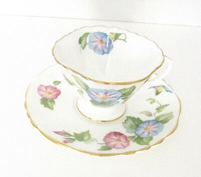 Vintage  Hammersley Tea Cup and Saucer, Bone China Tea Cups, Antique Teacup
