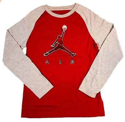 cd1367c9a469 NIKE BIG BOYS Jordan Jumpman Dri-Fit Long-Sleeve T-Shirt -  24.99 ...