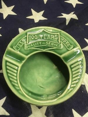 Vintage Ashtray Robinson Clay Product Co 100 Anniversary 1956, Roseville Ohio