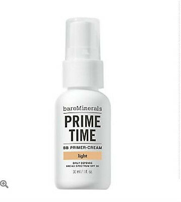 Bare Escentuals Bare Minerals Skin Care Prime Time BB Primer Light 1oz