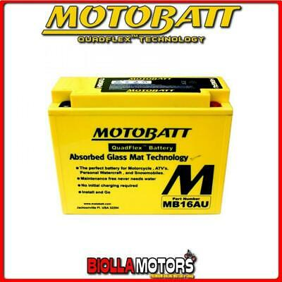MB16AU BATTERIA YB16AL-A2 DUCATI Monster, Superlight 900 1997-- MOTOBATT YB16ALA