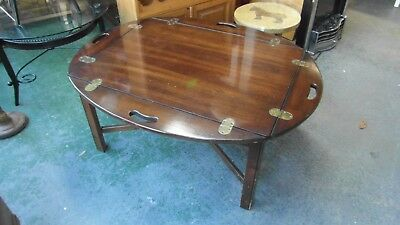 VINTAGE Unusual Butlers Tray Coffee Table by Lane 7499